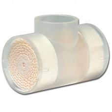"""Термовент Т2, дыхательный для трахеостомической трубки - """"искусственный нос"""" с портами для О2 и санации"""