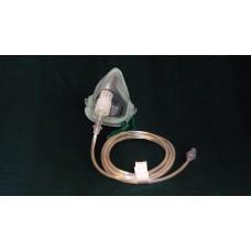 Маска кислородная Eco взрослая с кислородной трубкой 2,1м