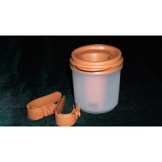 Чашка Provale коричневая/прозрачная с дозатором 10 мл.